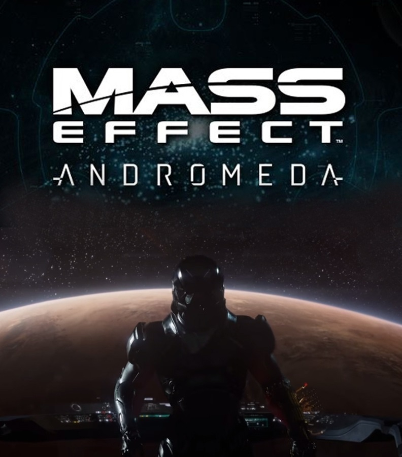 Обложка Mass Effect: Andromeda