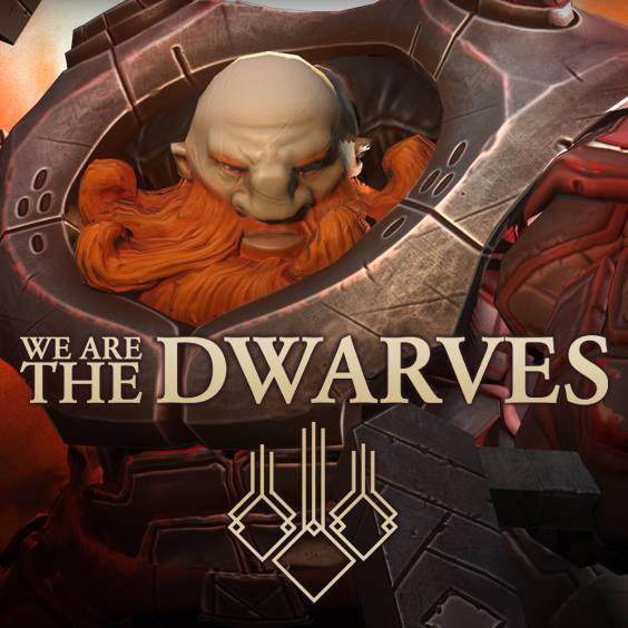 Обложка We Are the Dwarves!
