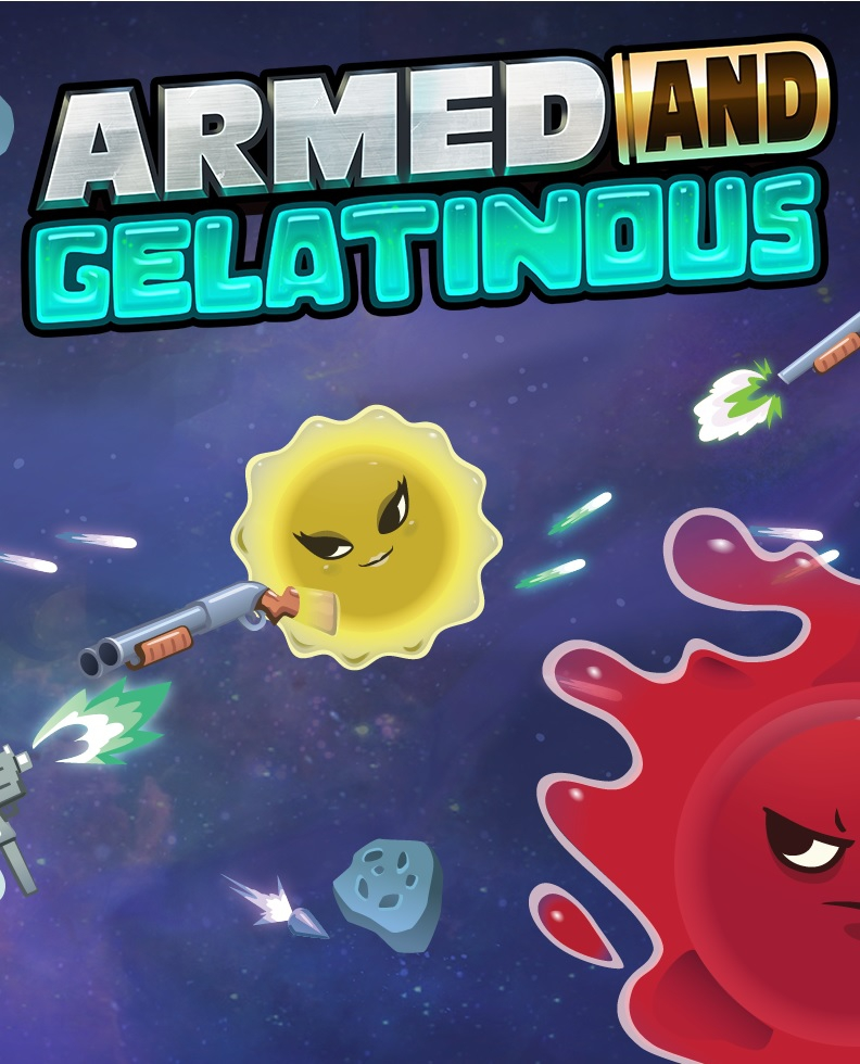 Обложка Armed and Gelatinous