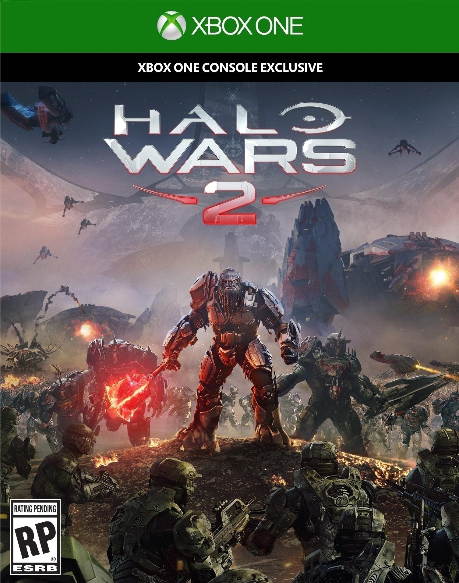 Обложка Halo Wars 2