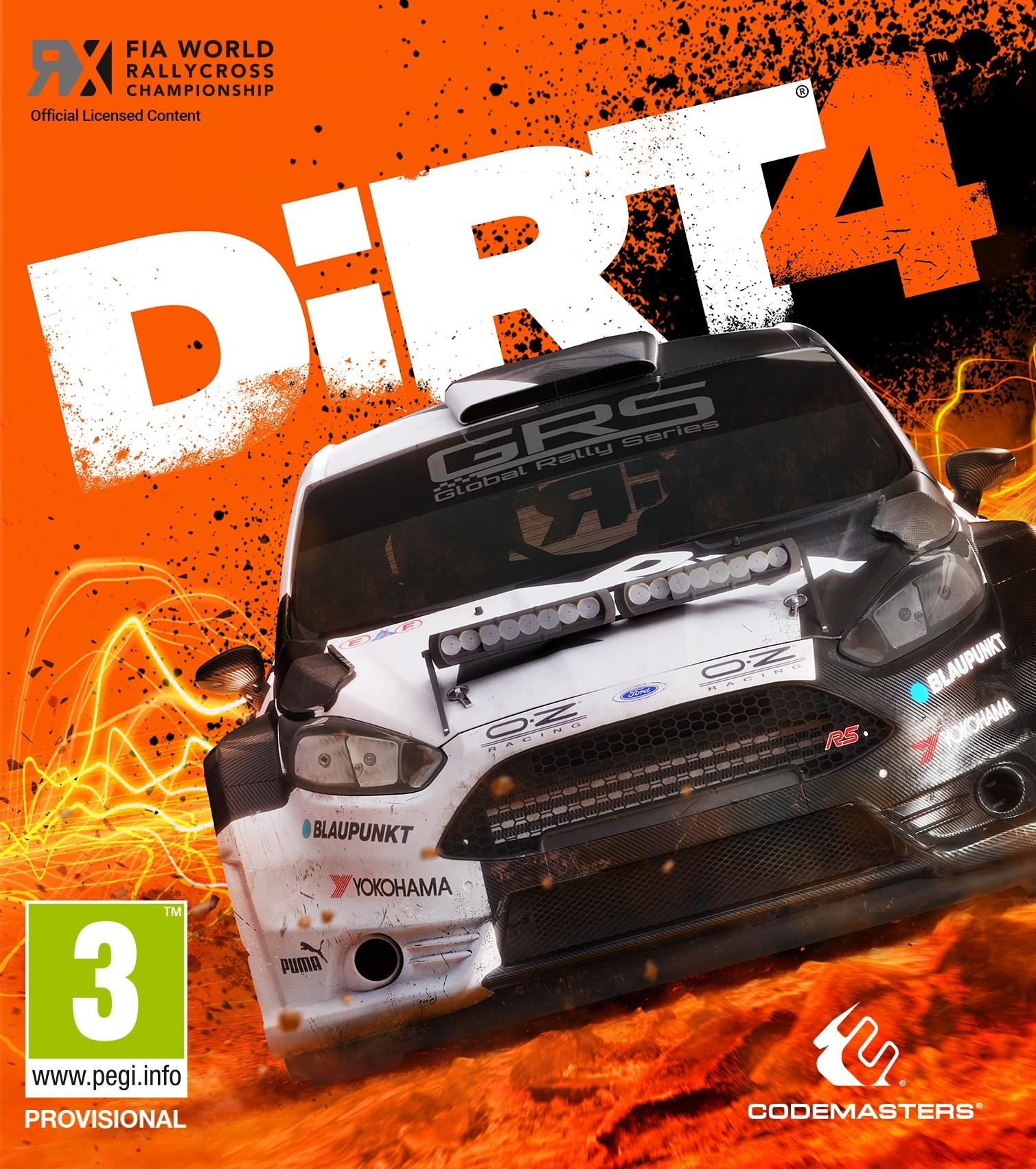 Обложка DiRT 4